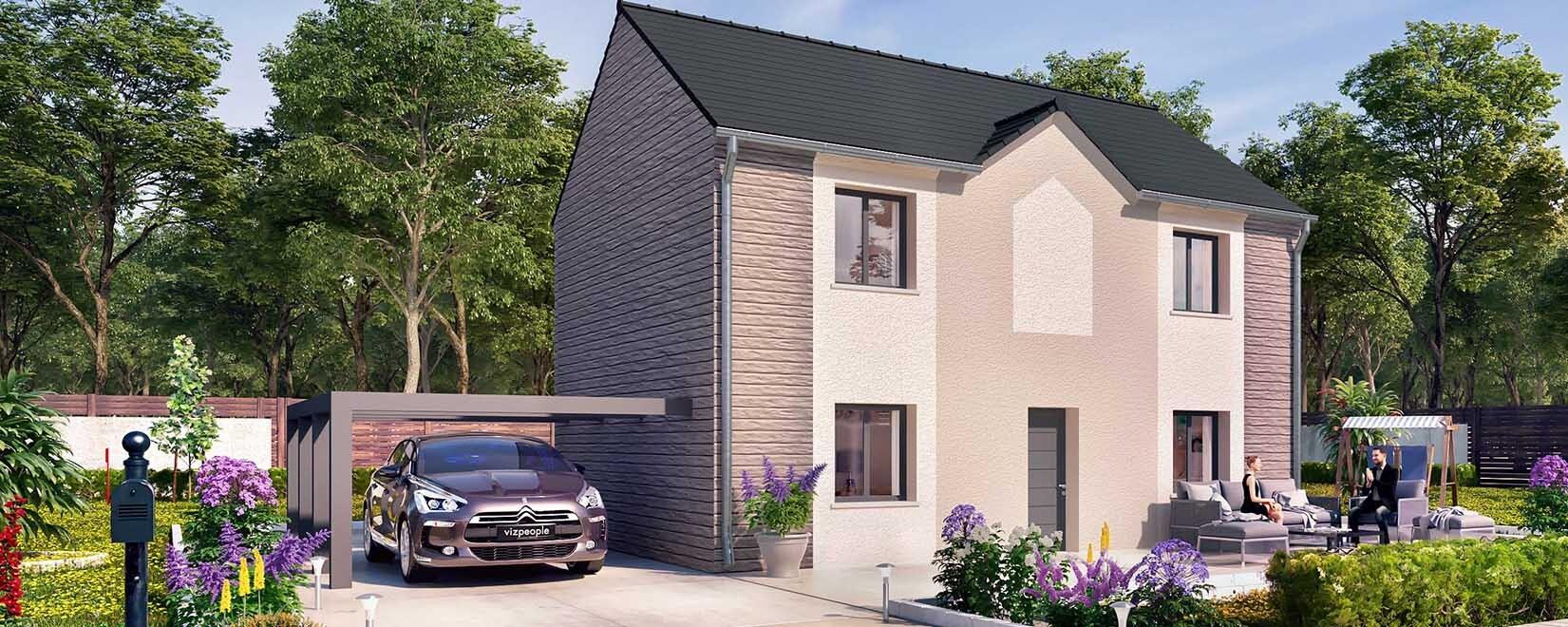 Maison LOL - construction de terrains + maisons en Ile-de-France